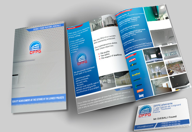 bconception et impression brochure