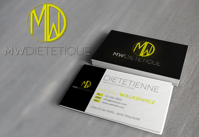 creation logo carte de visite