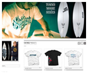seckence surf web site design